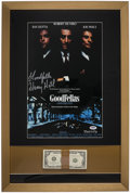 Miscellaneous Collectibles:General, Henry Hill Signed Goodfellas Framed Display....