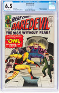 Silver Age (1956-1969):Superhero, Daredevil #3 (Marvel, 1964) CGC FN+ 6.5 White pages.