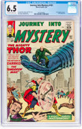 Silver Age (1956-1969):Superhero, Journey Into Mystery #101 (Marvel, 1964) CGC FN+ 6.5 Off-white towhite pages....