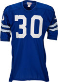 Football Collectibles:Uniforms, 1967-72 Dan Reeves Game Worn Dallas Cowboys Jersey, MEARS A8....