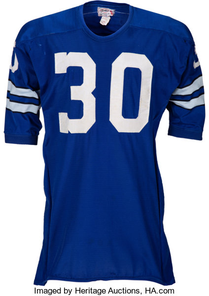 online store c7355 5ebb5 1967-72 Dan Reeves Game Worn Dallas Cowboys Jersey, MEARS A8 ...