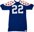 Football Collectibles:Uniforms, 1969 Roger Wehrli Game Worn College All Stars Jersey....