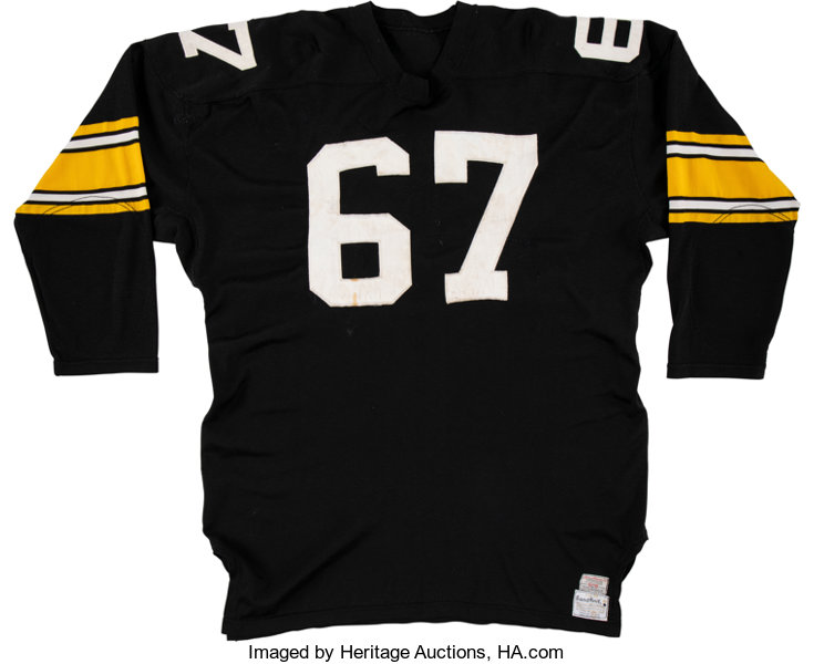 6e2c4a2e9a9 Football Collectibles:Uniforms, 1968 Dick Capp Game Worn Pittsburgh  Steelers Jersey.