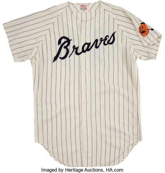 new style 4678d 50e4c 1970-71 Ron Reed Game Worn Atlanta Braves Jersey ...