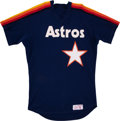 Baseball Collectibles:Uniforms, 1984 Ray Knight Houston Astros Batting Practice Jersey....