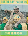 Football Collectibles:Publications, 1962 Vince Lombardi Signed Green Bay Packers Yearbook - Only Example Known!...