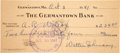 Baseball Collectibles:Others, 1941 Walter Johnson Signed Check, PSA/DNA Gem Mint 10....