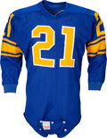 Football Collectibles:Uniforms, 1957 Alex Bravo Game Worn Los Angeles Rams Jersey....