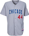 Baseball Collectibles:Uniforms, 2013 Anthony Rizzo Game Worn Chicago Cubs Uniform - Team Provenance & Photo Matched!...