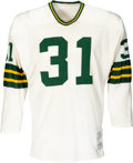 Football Collectibles:Uniforms, Circa 1970 Perry Williams Game Worn Green Bay Packers Jersey....