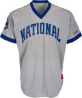 Baseball Collectibles:Uniforms, Early 1980's Enos Slaughter Game Worn Cracker Jack Old-Timers' Day Uniform from The Enos Slaughter Collection. ...