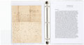 Military & Patriotic:Civil War, Frederick and John W. Gans, Union and Confederate Brothers, Archive of Letters....