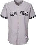 Baseball Collectibles:Uniforms, 2013 Mariano Rivera Last Ever Game Worn & Signed New York Yankees Uniform....