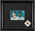 Autographs:Sports Cards, Signed 1994 Upper Deck Mickey Mantle and Ken Griffey, Jr. Contest Card. ...