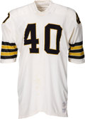Football Collectibles:Uniforms, 1971 Hoyle Granger Game Worn New Orleans Saints Jersey - Scarce Style!...