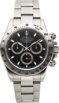 Timepieces:Wristwatch, Rolex, Oyster Perpetual Cosmograph Daytona, Stainless Steel, Ref.116520, Circa 2002. ...