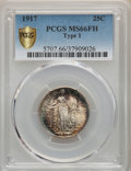 1917 25C Type One MS66 Full Head PCGS