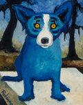 Paintings:Contemporary, George Rodrigue (1944-2013). Dancin' on My Grave, 1991. Acrylic on canvas. 14 x 11 inches (35.6 x 27.9 cm). Signed lower...