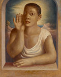 Paintings:Contemporary, Jesús Guerrero Galván (1910-1973). Untitled, 1940. Oil on canvas. 29 x 23-1/2 inches (73.7 x 59.7 cm). Signed and dated ...