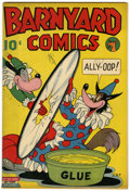Golden Age (1938-1955):Funny Animal, Barnyard Comics #nn (#1) (Nedor Publications, 1944) Condition:Apparent FN/VF....