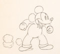 Animation Art:Production Drawing, Mickey's Service Station Mickey Mouse Animation Drawing (Walt Disney, 1935)....