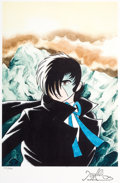 "Animation Art:Poster, ""Mountain Behind"" Black Jack Anime Limited Edition Print #25/500 (Tezuka Productions, 2008)...."