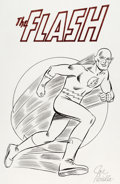 Original Comic Art:Illustrations, Joe Giella - The Flash Illustration Original Art (DC, c. 1990s)....