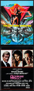 """Movie Posters:James Bond, The Spy Who Loved Me & Other Lot (United Artists, 1977). Very Fine-. Programs (2) (Multiple Pages, 9"""" X 12""""). Bob Peak Artwo... (Total: 2 Items)"""