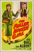 """Movie Posters:Comedy, The Fuller Brush Girl (Columbia, 1950). Folded, Very Fine-. OneSheet (27"""" X 41""""). Comedy.. ..."""