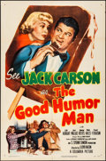 "Movie Posters:Comedy, The Good Humor Man (Columbia, 1950). Folded, Fine/Very Fine. One Sheet (27"" X 41""). Comedy.. ..."