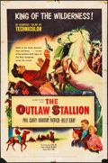 Movie Posters:Western, Outlaw Stallion (Columbia, 1954). Folded, Fine/Very Fine.