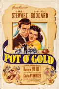 """Movie Posters:Comedy, Pot O' Gold (United Artists, 1941). Folded, Fine. One Sheet (27"""" X41""""). Comedy.. ..."""