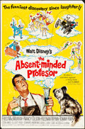 """Movie Posters:Comedy, The Absent-Minded Professor (Buena Vista, 1961). Folded, Fine/VeryFine. One Sheet (27"""" X 41""""). Comedy.. ..."""