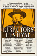 """Movie Posters:Miscellaneous, Directors' Festival (Janus, c.1960s). Folded, Very Fine. FilmFestival One Sheet (27"""" X 41""""). Miscellaneous.. ..."""