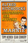 """Movie Posters:Hitchcock, Marnie (Universal, 1964). Folded, Very Fine-. Autographed One Sheet(27"""" X 41""""). Hitchcock.. ..."""