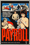 """Movie Posters:Crime, Payroll (Allied Artists, 1962). Folded, Very Fine. Silk Screen British One Sheet (27"""" X 40""""). Crime.. ..."""