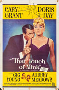 """Movie Posters:Comedy, That Touch of Mink (Universal International, 1962). Folded, Very Fine-. One Sheet (27"""" X 41""""). Comedy.. ..."""