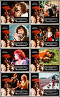 """Movie Posters:Musical, A Star Is Born (Warner Brothers, 1976). Very Fine/Near Mint. LobbyCard Set of 8 (11"""" X 14""""). Musical.. ... (Total:..."""