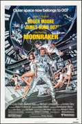 "Movie Posters:James Bond, Moonraker (United Artists, 1979). Rolled, Very Fine. One Sheet (27""X 41""). Dan Goozee Artwork. James Bond.. ..."