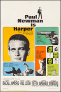 Movie Posters:Crime, Harper (Warner Brothers, 1966). Folded, Very Fine-.