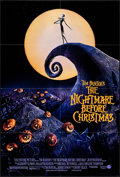 "Movie Posters:Animation, The Nightmare Before Christmas (Touchstone, 1993). Folded, Very Fine+. One Sheet (27"" X 40"") DS. Animation.. ..."