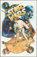 Movie Posters:Science Fiction, Star Wars: The First Ten Years (Killian Enterprises, 1987). Rolled,Very Fine+. Autographed and Hand Numbered Limited...