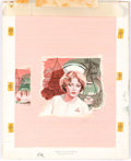 Original Comic Art:Covers, Edrien Nurse Delia's Choice by Virginia Smiley DustjacketOriginal Painting (Avalon Books, 1977)....
