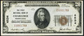 National Bank Notes:Pennsylvania, Charleroi, PA - $20 1929 Ty. 1 The First NB Ch. # 4534 Extremely Fine.. ...