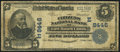 National Bank Notes:Pennsylvania, East Mauch Chunk, PA - $5 1902 Plain Back Fr. 600 The Citizens NB Ch. # (E)8446 Very Good.. ...