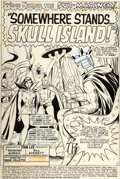 Original Comic Art:Splash Pages, Bill Everett and Vince Colletta Tales to Astonish #96 Splash Page 1 Original Art (Marvel, 1967)....