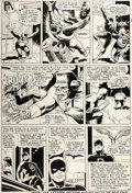 Original Comic Art:Panel Pages, Bob Powell and Wally Wood Daredevil #10 Story Page 20 Original Art (Marvel, 1965)....
