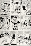 Original Comic Art:Panel Pages, Wally Wood Daredevil #6 Story Page 17 Original Art (Marvel, 1965)....