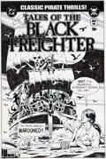 "Original Comic Art:Covers, Dave Gibbons Watchmen Movie ""Tales of the Black Freighter""Prop Comic Cover Original Art (DC/Warner Brothers, 2009..."