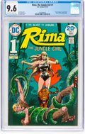 Bronze Age (1970-1979):Miscellaneous, Rima the Jungle Girl #1 (DC, 1974) CGC NM+ 9.6 Off-white to whitepages....